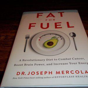 Fat for Fuel Hardbound Book NWOT